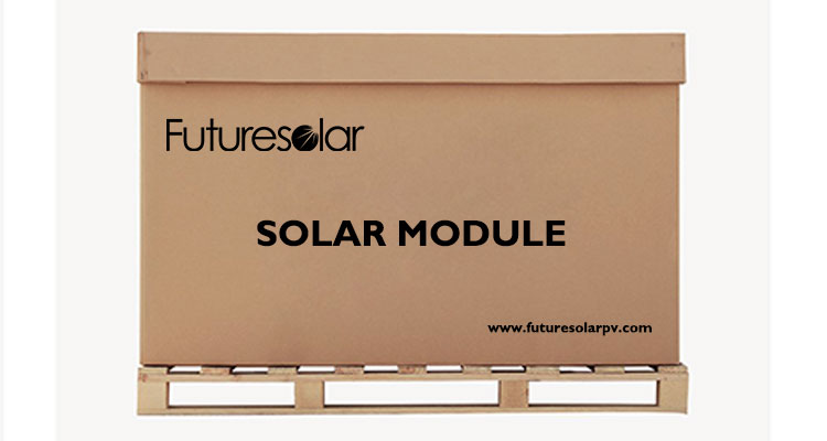 Futuresolar proressional solar modules packing